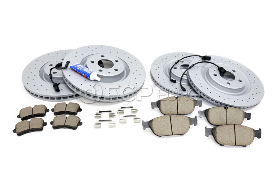 Audi Brake Kit - Zimmermann Sport/Akebono 100335752KT2