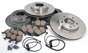 BMW Brake Kit - Zimmermann/Akebono E36BK4
