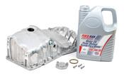 VW Oil Pan Kit with 5W30 Pentosin Oil - Vaico 06B103601CA