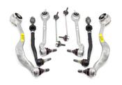 BMW 8-Piece Control Arm Kit - Lemforder 525E398PIECEL