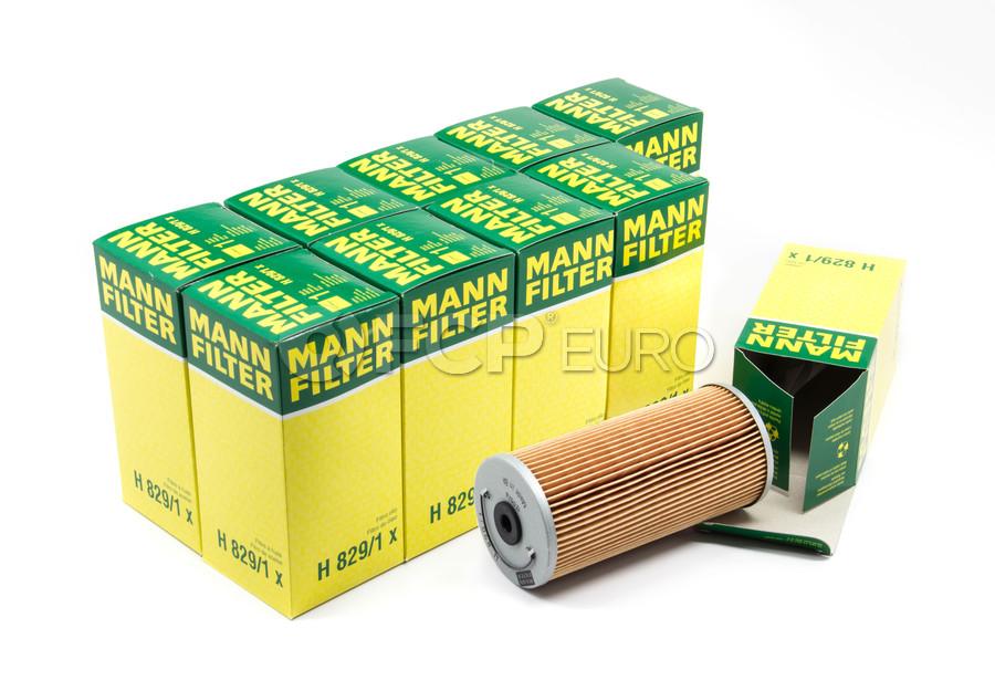 Mercedes Engine Oil Filter Case (10 Filters) - Mann H829/1X-10